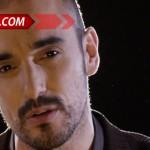 Abel Pintos se cambió el look: se animó al bigote