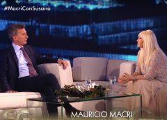 Susana Giménez ¿recibirá al Presidente de la Nación en su living?