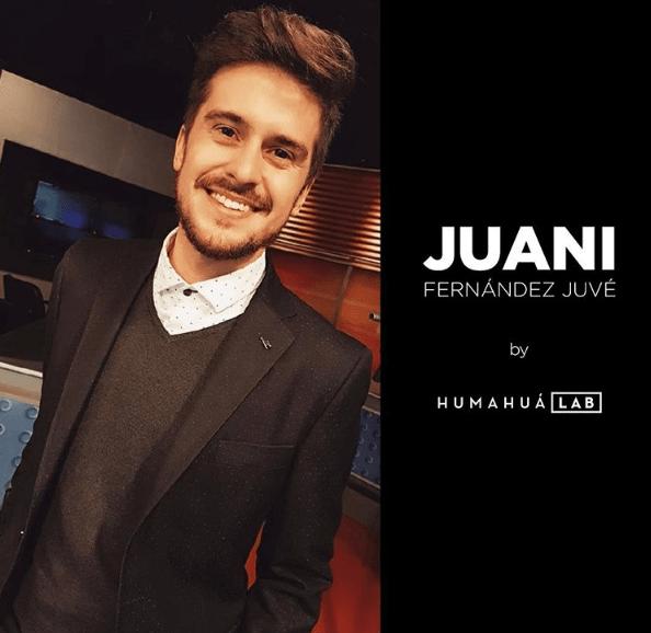 Juani se viste en #HumahuaLab